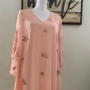 Loveriche Peach Easter Dress